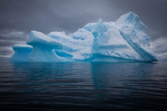 Landscape-Antartica-Half-Moon-Island-iceberg-ice-blue-john-greengo