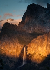 Landscape-Chiaroscuro-mixed-light-spot-light-yosemite-falls-john-greengo