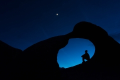 Landscape-Mobius-Arch-man-in-arch-night-john-greengo