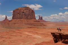 Landscape-Monument-Valley-cowboy-on-horse-southwest-john-greengo