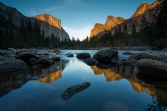 Landscape-Yosemite-Merced-River-reflection-John-Greengo