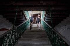 People-Cuban-Dancers-decending-down-stairs-john-greengo