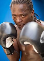 People-Cuban-Man-boxing-gloves-posing-john-greengo