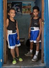 People-Cuban-boys-in-doorway-ready-to-box-john-greengo